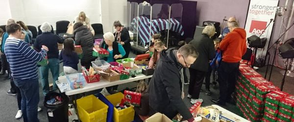 Norfolk shoebox volunteers 600