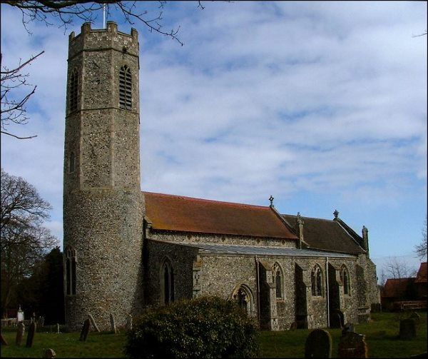 Rollesby church 600AT