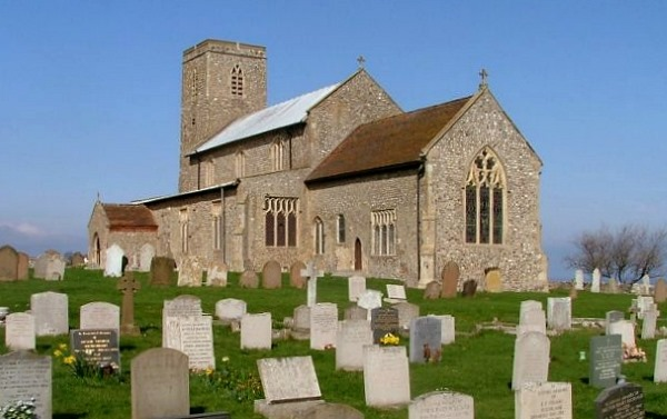 Beeston Regis church 600AT