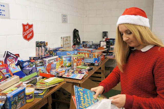 Salvation Army Prepares for Increased Need