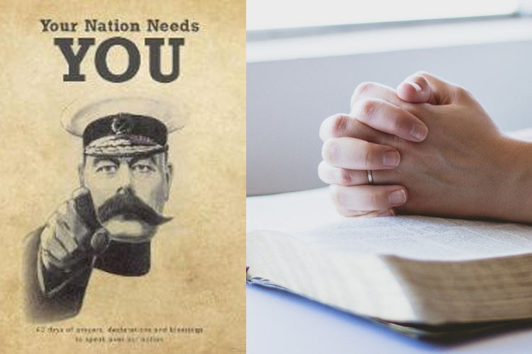 Your nation needs youCF