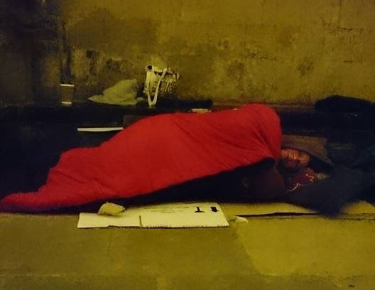 Leona Advent Sleepout