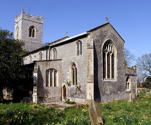 Baconsthorpe Church 640AT