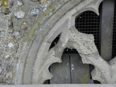Salthouse church window 357CF