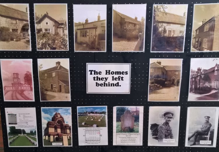 Thorpe Market WW1 homes 750CF
