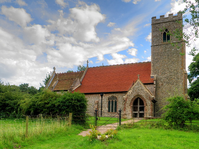 Thursford church 640AT